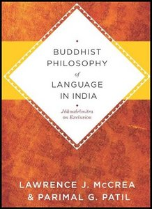 Buddhist Philosophy of Language in India: Jnanasrimitra on Exclusion free download
