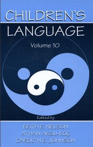 Children's Language: Narrative and Discourse Development Vol 10 free download