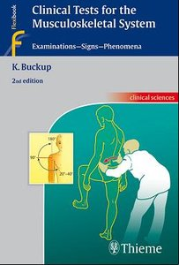 Clinical Tests for the Musculoskeletal System: Examinations - Signs - Phenomena free download