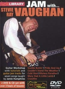 Lick Library - JAM with Stevie Ray Vaughan free download
