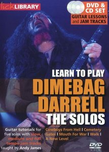 Lick Library - Learn to play Dimebag Darrell - The Solos free download