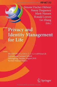 Privacy and Identity Management for Life free download
