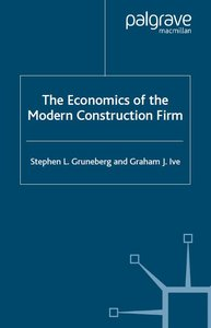 Economics of the Modern Construction Fir free download