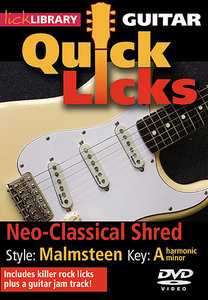 Lick Library - Quick Licks: Yngwie Malmsteen: Neo-Classical Shred, Key A free download