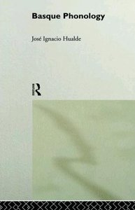 Basque Phonology (Theoretical Linguistics) free download