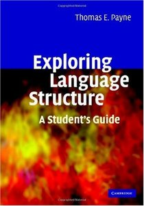 Exploring Language Structure: A Student's Guide free download