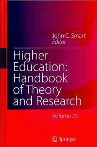 Higher Education: Handbook of Theory and Research free download
