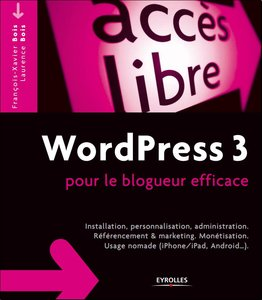 WordPress 3 pour le blogueur efficace free download