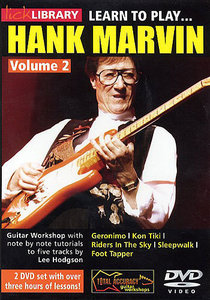 Lick Library - Learn to play Hank Marvin Volume 2 free download