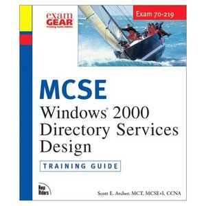 MCSE Windows 2000 Directory Services Design Training Guide free download