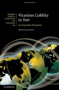 Vicarious Liability in Tort: A Comparative Perspective free download