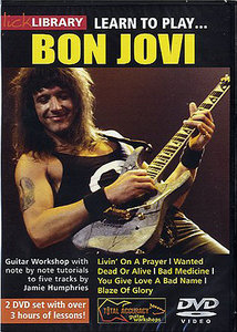 Lick Library - Learn To Play Bon Jovi (2 DVD) free download