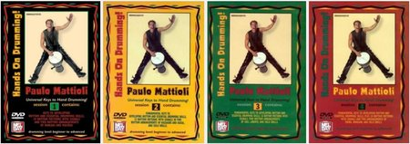 Hands on Drumming with Paulo Mattioli (4 Sessions) (1996) free download