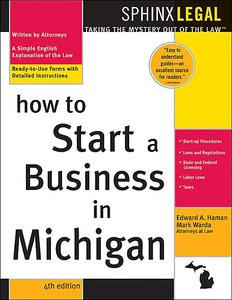 How to Start a Business in Michigan, 4E Warda and Haman