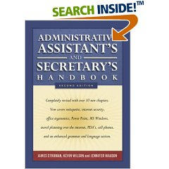 Administrative Assistant S And Secretary S Handbook Free Ebooks
