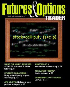 Futures and options trading magazine