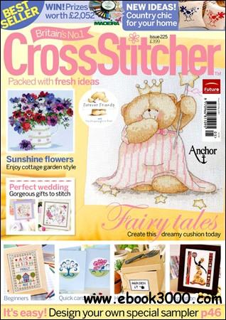Cross stitcher may 2010 issue 225 free ebooks download for Country living magazine cross stitch