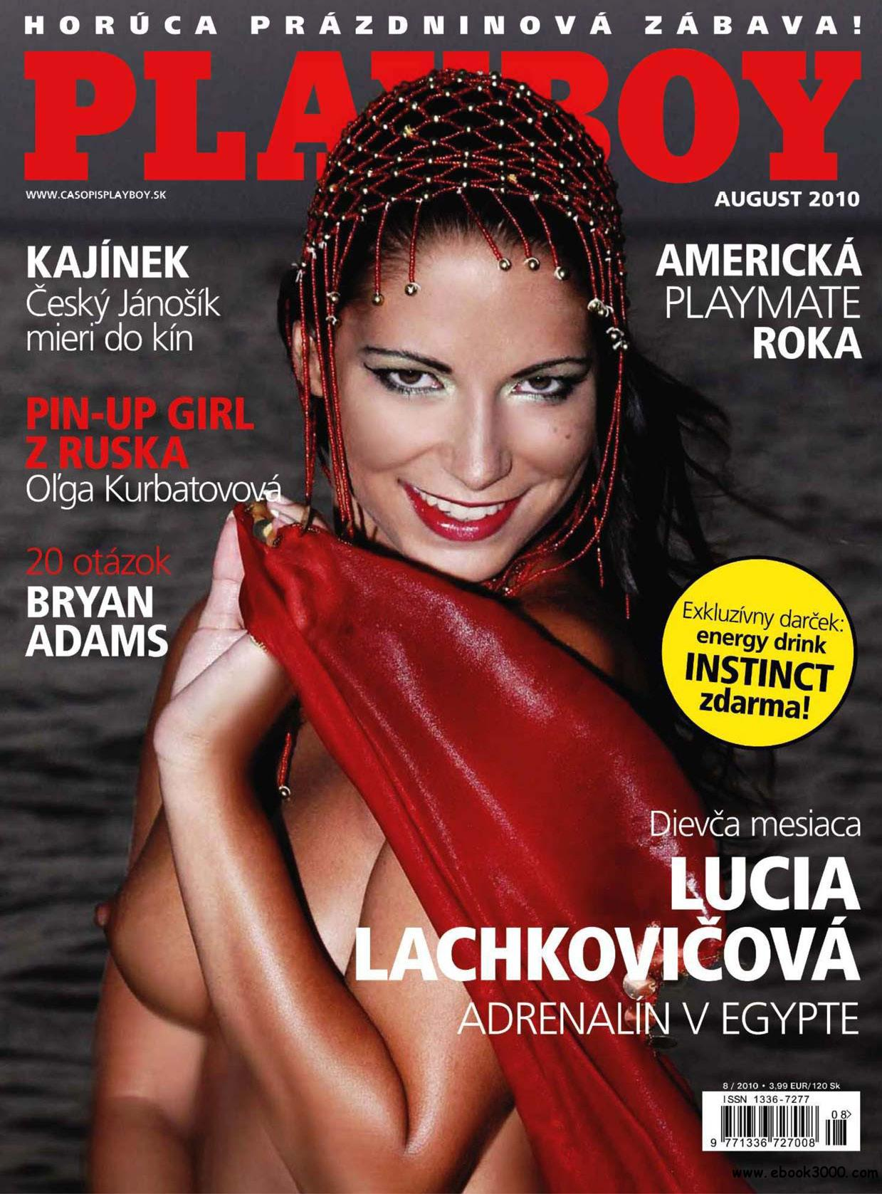 Playboy Slovakia - August 2010 free download