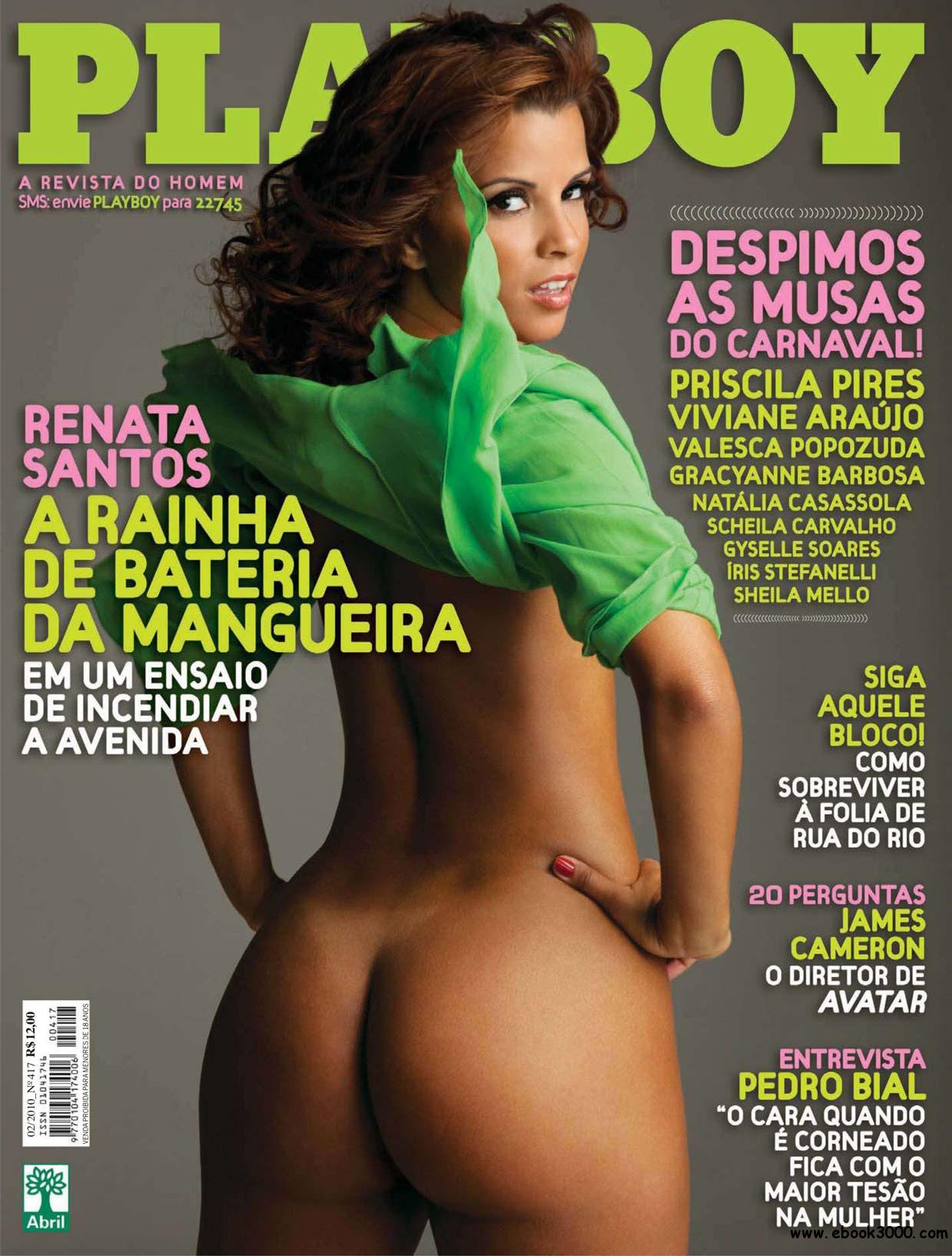 Playboy Brazil - February 2010 free download