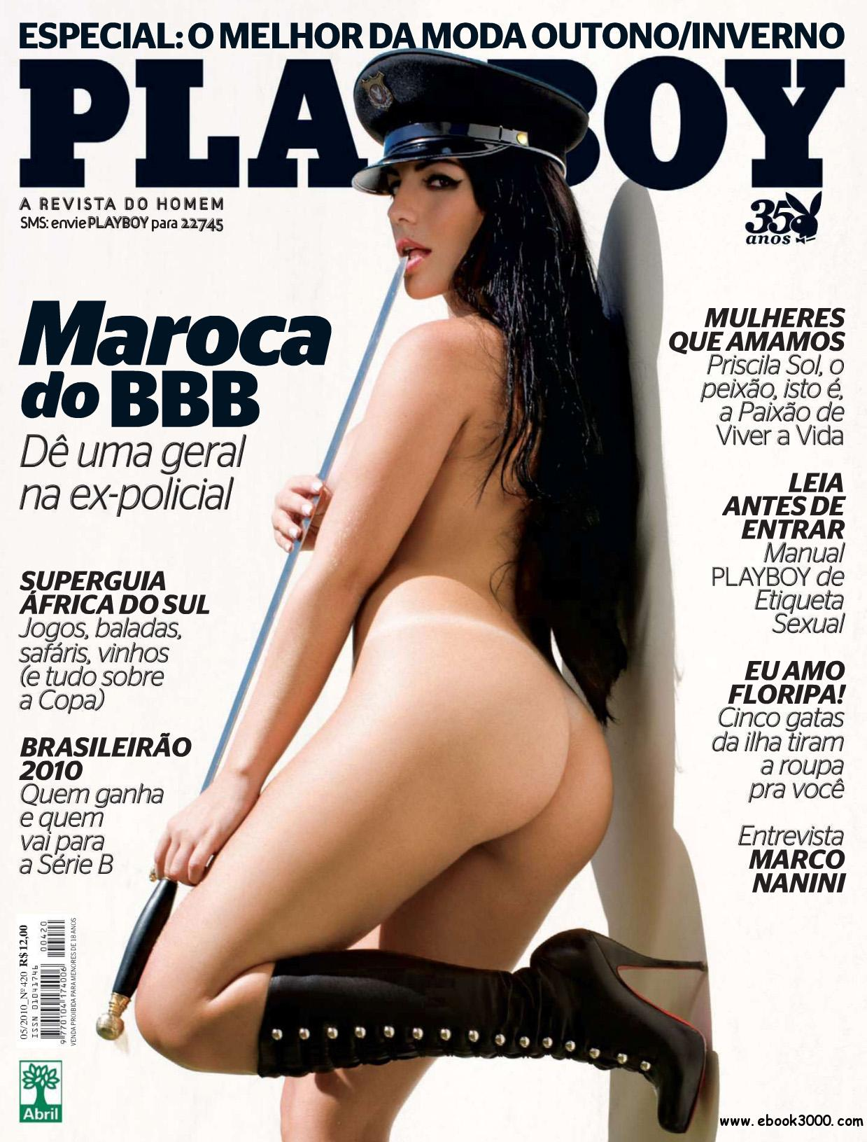 Playboy Brazil - May 2010 free download