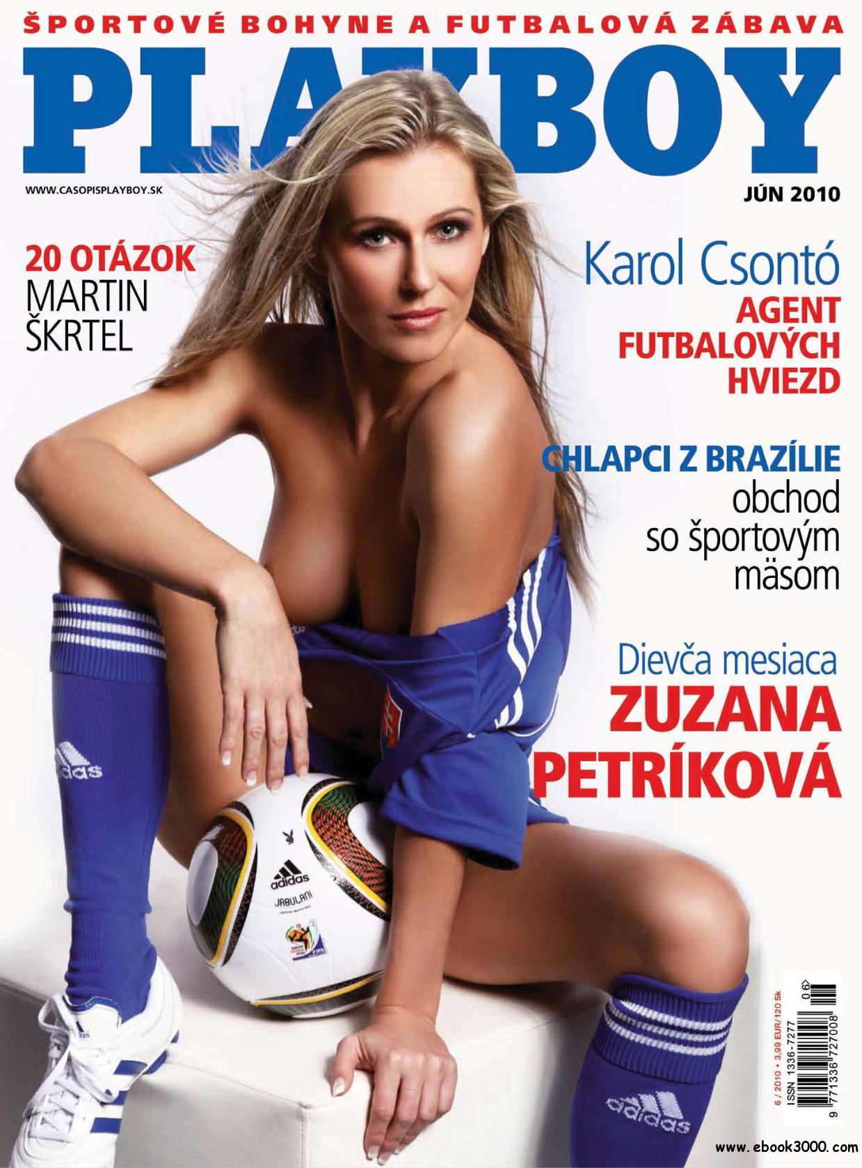 Playboy Slovakia - June 2010 free download