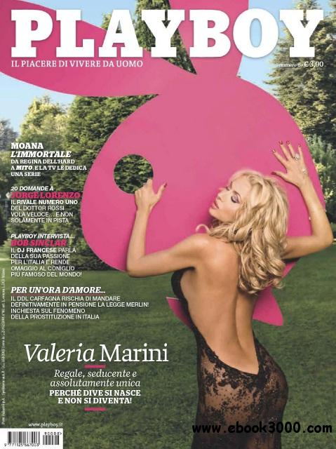 Playboy Italy - September 2009 free download