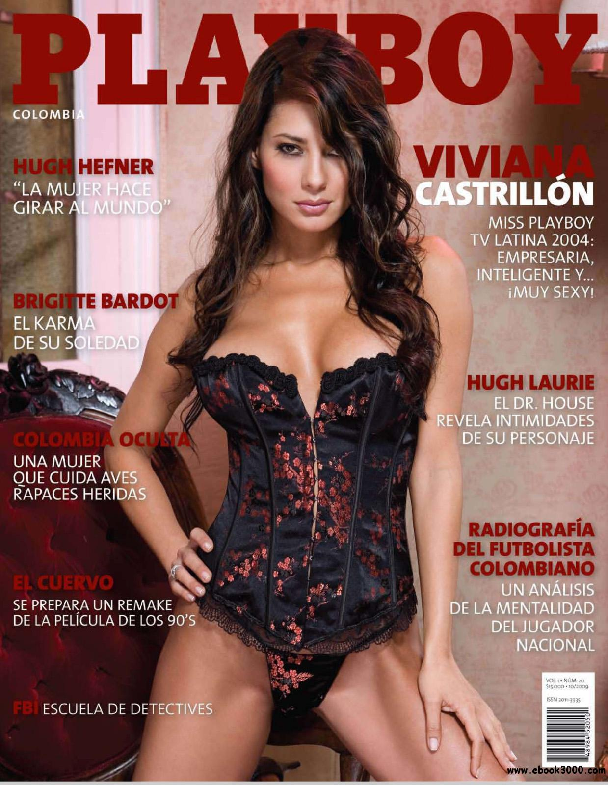Playboy Colombia - October 2009 free download