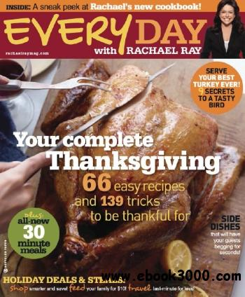 Every Day With Rachael Ray - November 2010 free download