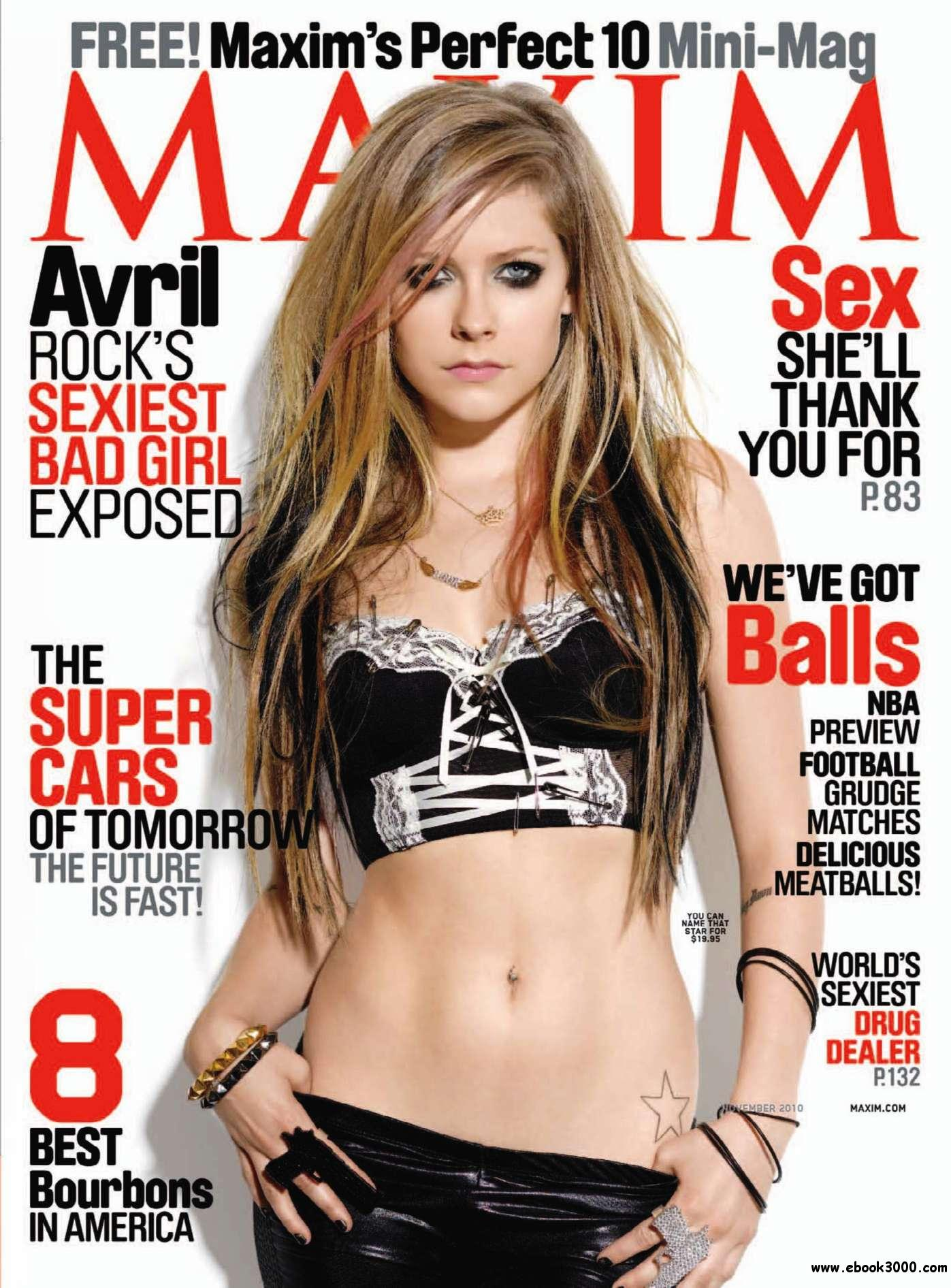 Maxim - November 2010 free download