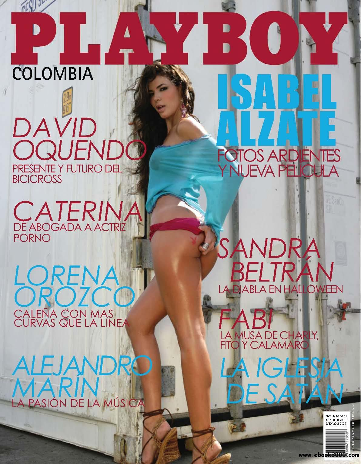 Playboy Colombia - October 2010 free download