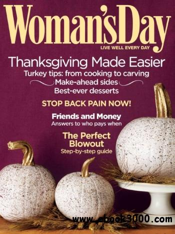 Woman's Day - 17 November 2010 free download