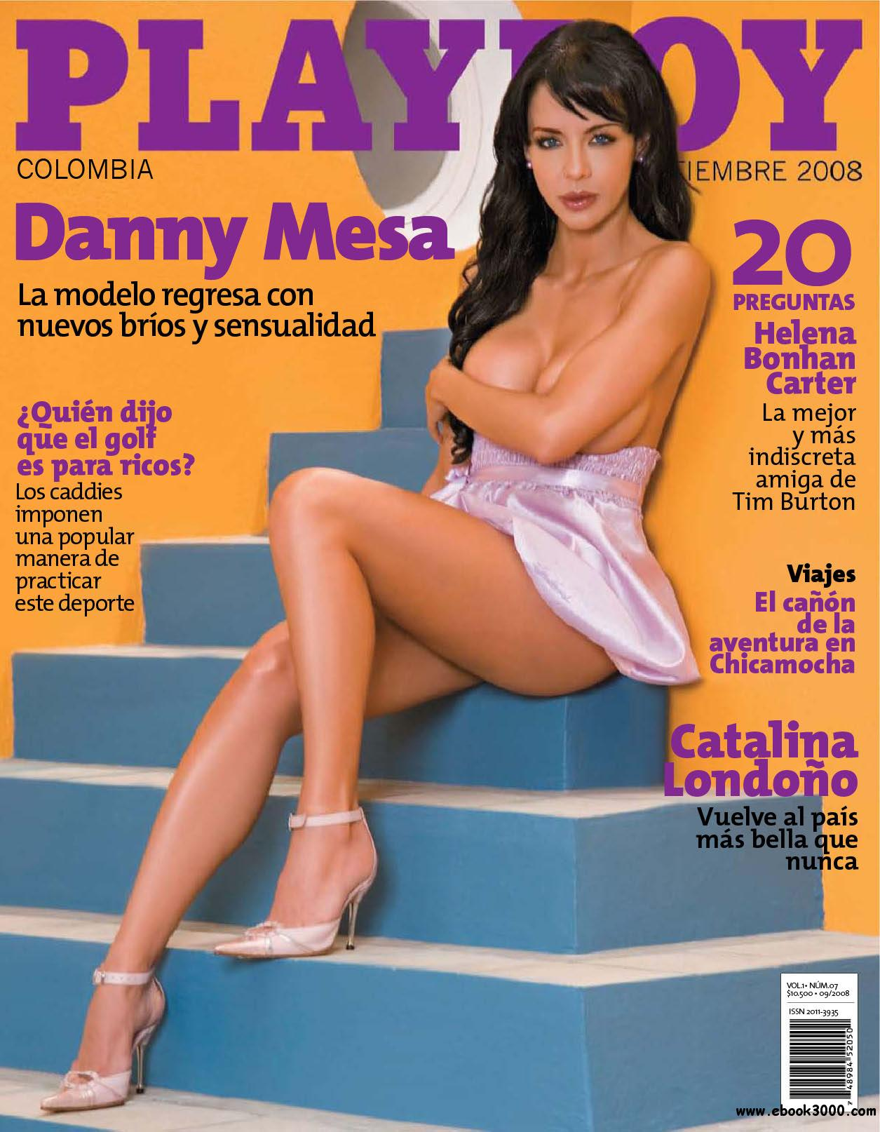 Playboy Colombia - September 2008 free download