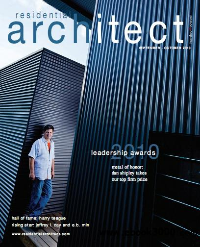 Residential architect magazine sep oct 2010 free ebooks for Free architecture magazines