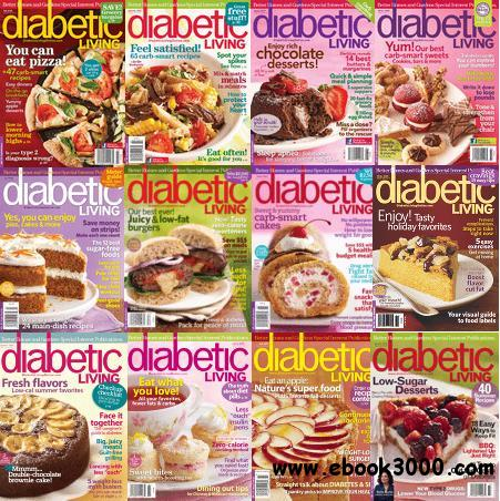 Diabetic Living Magazine 2008 - 2010 Full Collection free download