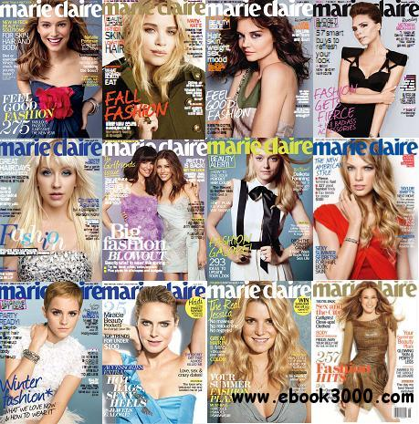 Marie Claire (US) Magazine 2010 Full Collection free download