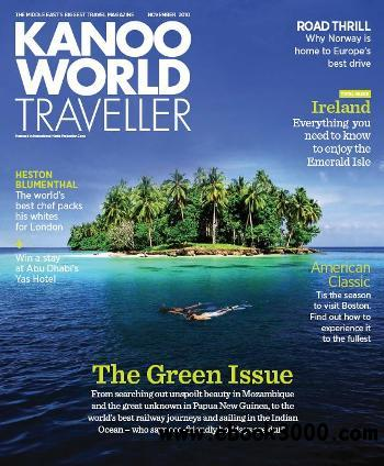 Kanoo World Traveller - November 2010 free download