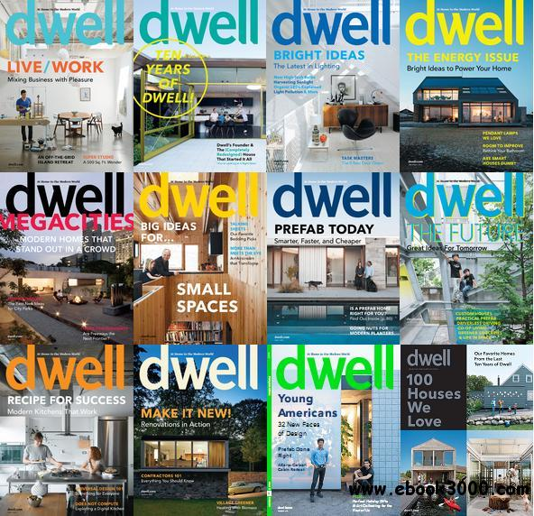 Dwell Magazine 2010 Full Collection free download