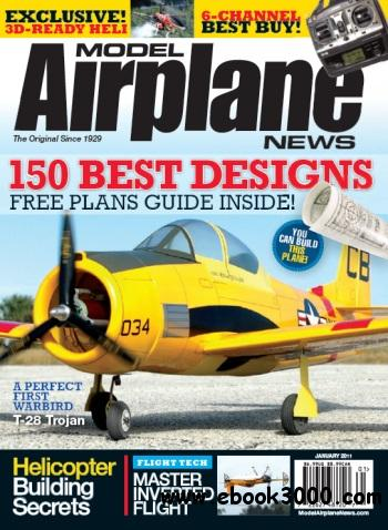 Model Airplane News - January 2011 free download