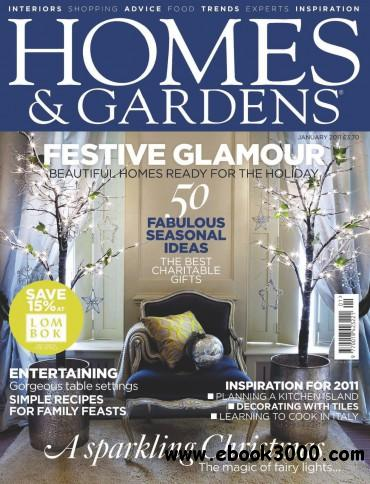 Homes & Gardens - January 2011 free download