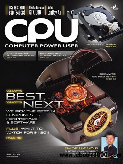 Computer Power User (CPU) - January 2011 free download
