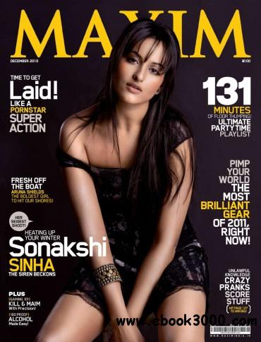 Maxim India - December 2010 free download