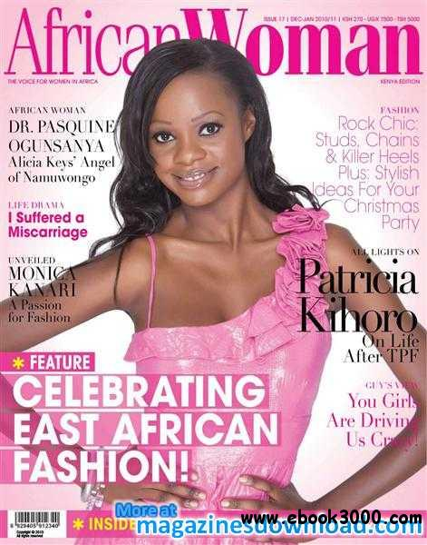 African Woman Kenya Edition - December 2010 / January 2011 free download