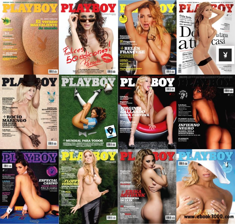 Playboy Argentina - Full Year 2010 Issues Collection free download