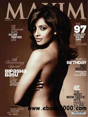 Maxim India - January 2011 free download