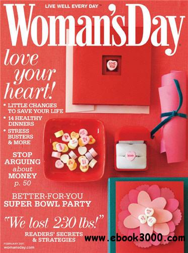 Woman's Day - 01 February 2011 free download