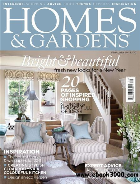 Homes & Gardens - February 2011 free download