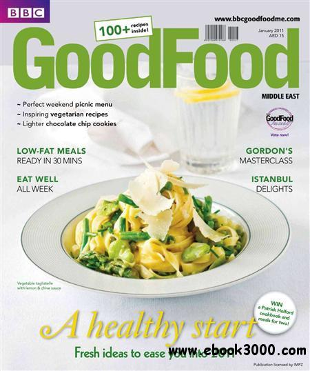 BBC Good Food Middle East - January 2011 free download