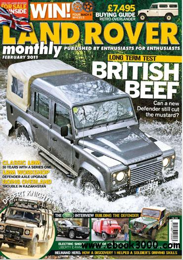 Land Rover Monthly - February 2011 download dree