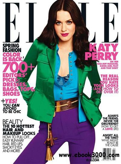 ELLE - March 2011 free download