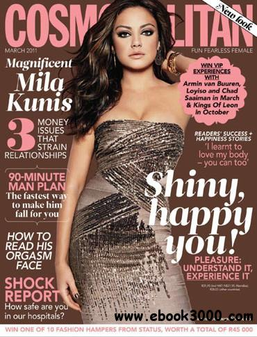 Cosmopolitan South Africa - March 2011 free download